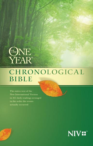 The One Year Chronological Bible NIV PDF
