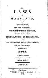 The Laws of Maryland: 1801-1809. Index