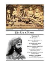 NBS#15: The Life of Vidura