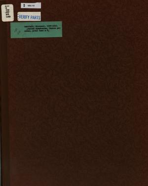Symphoniae sacrae  1597   1 PDF