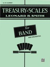 Treasury of Scales for Band and Orchestra: 1st B-flat Clarinet Part