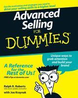 Advanced Selling For Dummies PDF