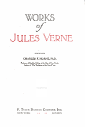 Works of Jules Verne: The Robinson Crusoe school. The star of the south. Purchase of the North pole