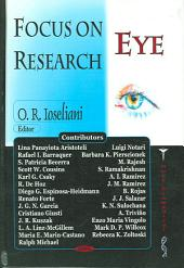 Focus on Eye Research