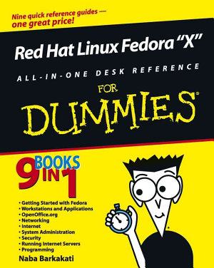 Red Hat Fedora Linux 2 All in One Desk Reference For Dummies