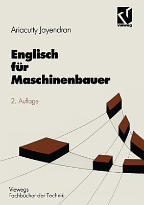 Englisch f  r Maschinenbauer PDF