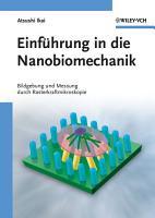 Einf  hrung in die Nanobiomechanik PDF