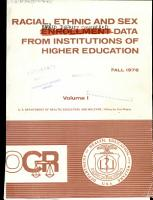 Data on Earned Degrees Conferred by Institutions of Higher Education by Race  Ethnicity and Sex PDF