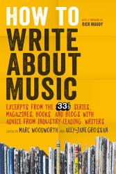 How To Write About Music Book PDF