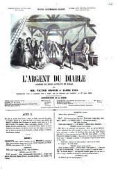 L'argent du diable comédie en trois actes et en prose par Victor Séjour et Jaime fils