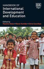 Handbook of International Development and Education