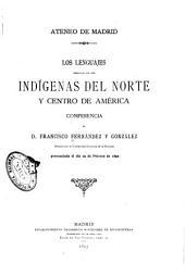 Los lenguajes hablados por los indígenas del Norte y centro de América