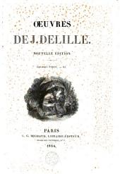 Oeuvres complètes de J. Delille: Volume15