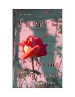 Poems for Lovers Loving   Being Loved PDF