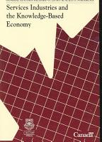 Services Industries and the Knowledge based Economy PDF