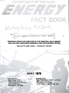 Department of the Navy Energy Fact Book
