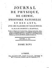 Journal de physique, de chimie, d'histoire naturelle avec des planches en taille-douce par Jean-Claude Lamétherie