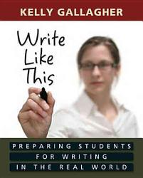 Write Like This Book PDF