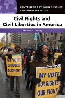 Civil Rights and Civil Liberties in America  A Reference Handbook PDF