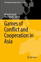 Games of Conflict and Cooperation in Asia PDF