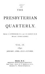 The Presbyterian Quarterly PDF