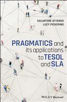 Pragmatics and its Applications to TESOL and SLA PDF