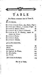 Oeuvres choisies de Rousseau