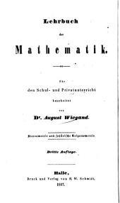 Lehrbuch der Stereometrie und sphärischen Trigonometrie, nebst zahlreichen Uebungsaufgaben: Für die oberen Klassen höherer Lehranstalten