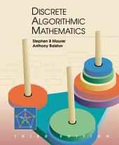 Discrete Algorithmic Mathematics: Edition 3