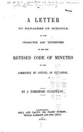 Revised code of minutes of the Committee of council on Education
