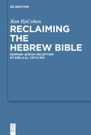 Reclaiming the Hebrew Bible