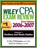 Wiley CPA Examination Review 2006 2007  Outlines and Study Guides PDF