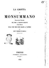 La grotta di Monsummano osservazioni chimiche del prof. A. Targioni Tozzetti