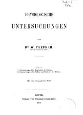 Physiologische Untersuchungen