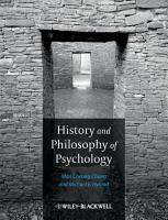 History and Philosophy of Psychology PDF