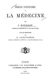 Précis d'histoire de la médecine