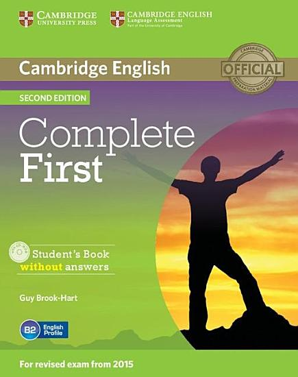 Complete First Student s Book without Answers with CD ROM PDF