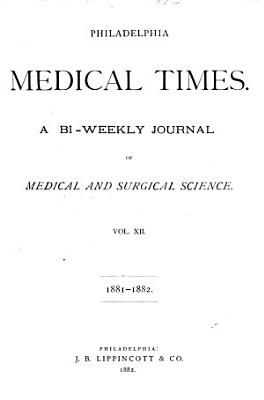 Philadelphia Medical Times PDF