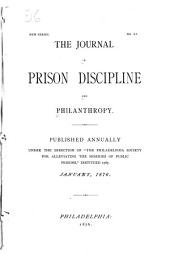The Journal of Prison Discipline and Philanthropy: Issue 15