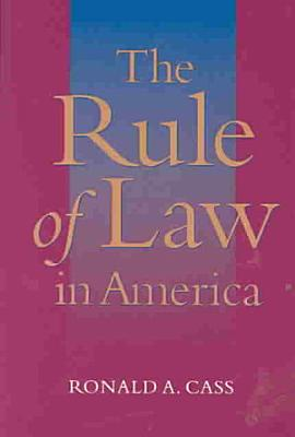 The Rule of Law in America PDF
