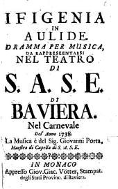 Ifigenia in Aulide: Drama per musica