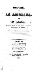 Historia de la América: Volumen 4