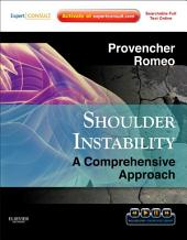 Shoulder Instability: A Comprehensive Approach E-Book