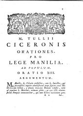 M. Tullii Ciceronis Opera cum delecta commentariorum in usum serenissimi Delphini...: in IX Tomos distributa
