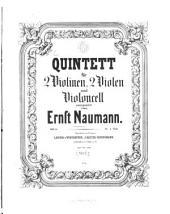 Quintett: für 2 Violinen, 2 Violen u. Violoncell ; op. 6