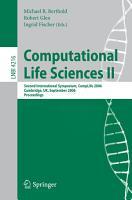Computational Life Sciences II PDF