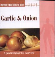 Improve your Health  with Garlic  Onion PDF