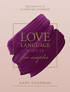 Love Language Minute for Couples Book