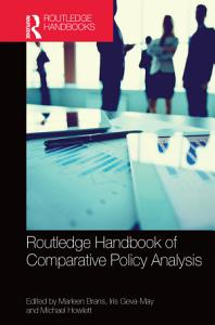 Routledge Handbook of Comparative Policy Analysis PDF