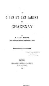Les sires et les barons de Chacenay